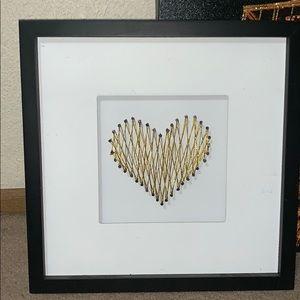 Other - Heart wall art
